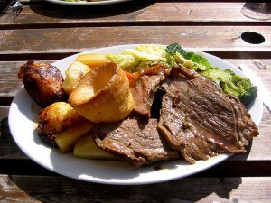 Roast beef och Yorkshire pudding Foto: Edward