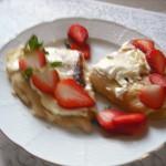 Dessertpannkaka med keso från Slovenien Foto: Lånat från Matklubben.se