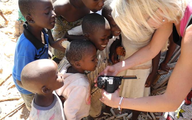 På besök i Malawi Foto: Hungerprojektet