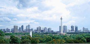 Indonesiens huvudstad Jakarta Foto: Gunawan Kartapranata