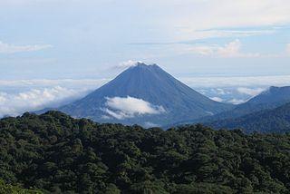 Arenal-vulkanen i Costa Rica Foto: Peter Andersen