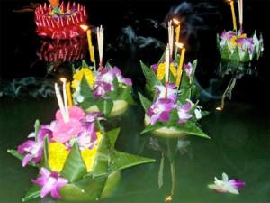 Loi krathong Foto från thaliandliving