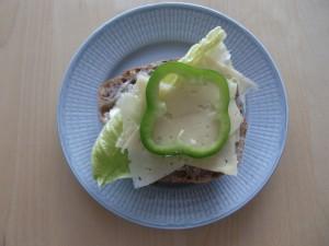 En lagom svensk smörgås Foto: Lena Ahlström
