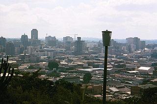 Zimbabwes huvudstad Harare Foto: Andrew Balet