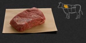 Högrev sitter högt upp på skuldran. Foto: Naturkött