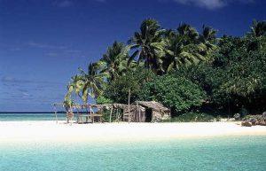 Ön Nuku på den södra delen av Vavaʻu, Tonga. Foto: Stefan Heinrich