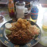Conch med ärtor och ris Foto: Jpatokal